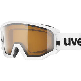 UVEX Athletic P Goggles white mat/polavision